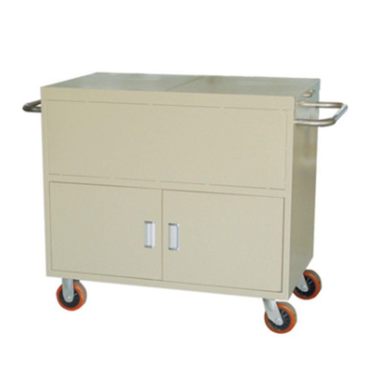 Epoxy coated asepsis trolley